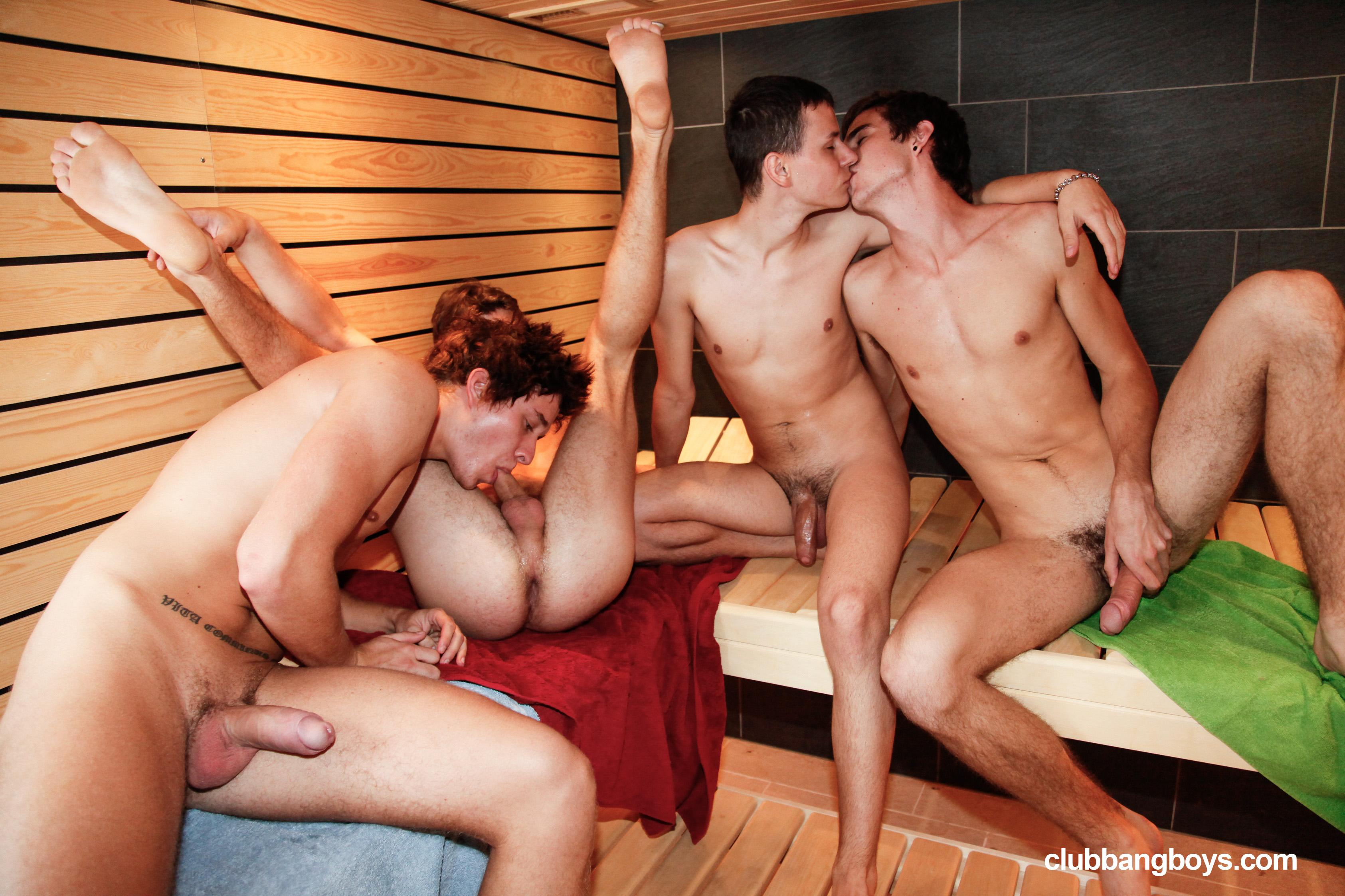 sauna-gei-video